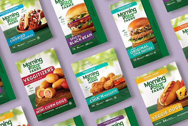 The Results of MorningStar Farms' Redesign are Positively Delicious