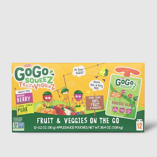 GoGo Squeez Fruits & Veggiez